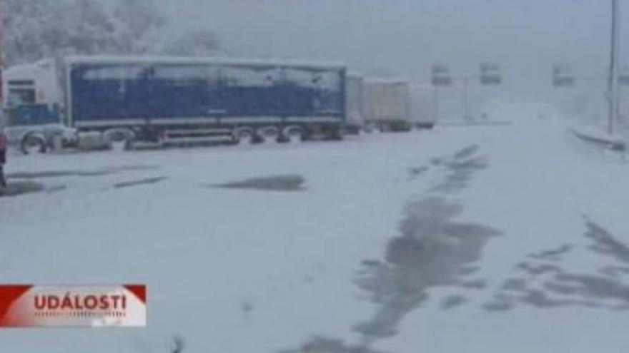Video Ve Španělsku napadl sníh
