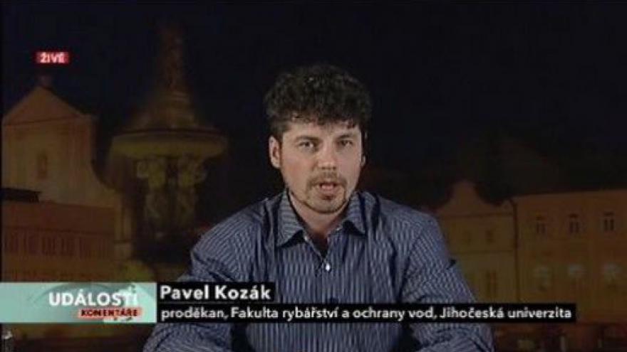 Video Události, komentáře s Pavlem Kozákem