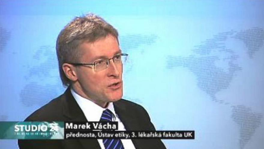 Video Marek Vácha o eutanazii v Británii