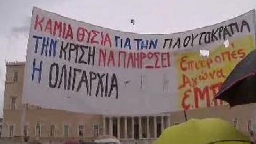 Video Řecko stávkuje