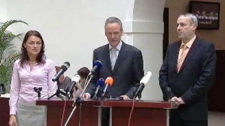 Video Brífink KDU-ČSL k jednání sněmovny