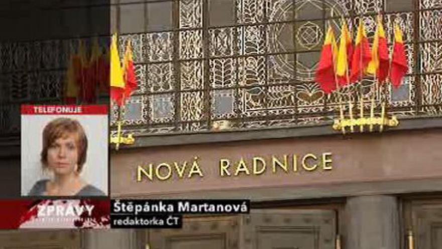 Video Telefonát Štěpánky Martanové