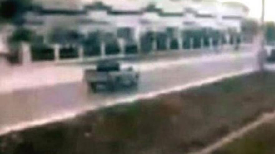 Video Amatérské záběry zemětřesení