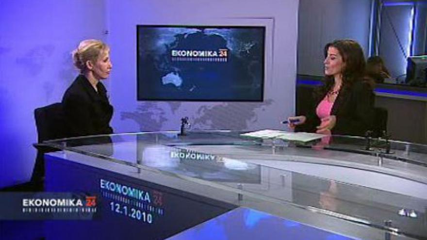 Video Rozhovor s generální ředitelkou CzechInvestu, Alexandrou Rudyšarovou
