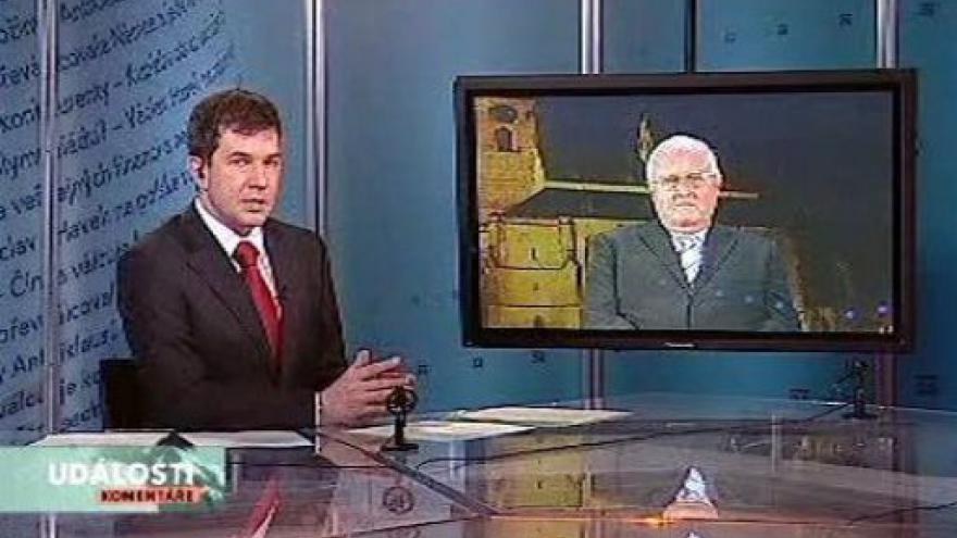 Video Josef Průša v Událostech, komentářích