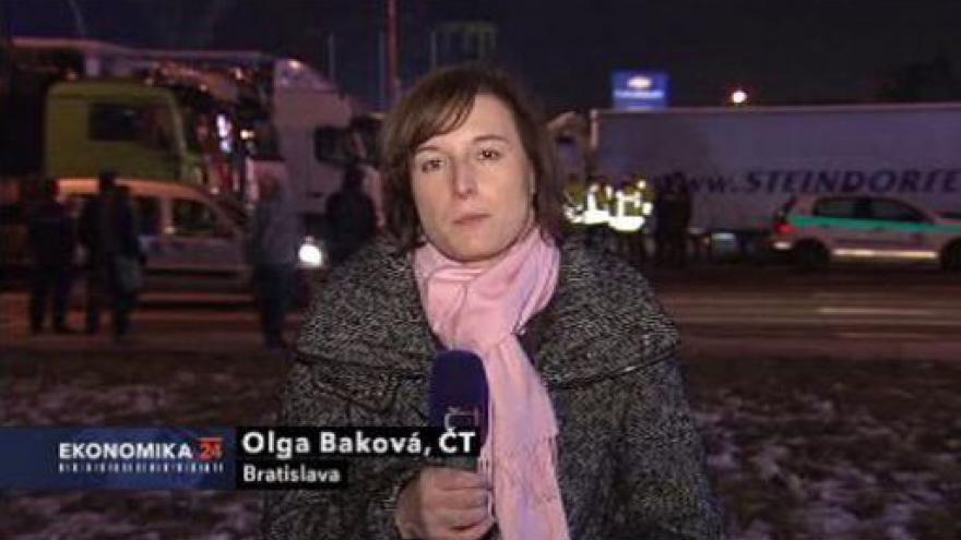 Video Slovenská vláda ustoupí autodopravcům
