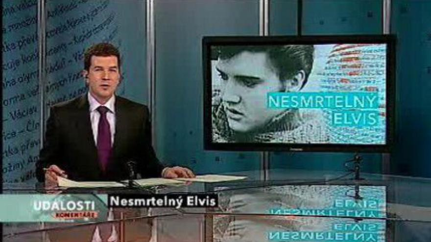 Video Události, komentáře o Elvisu Presleym