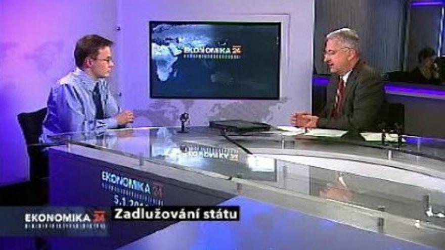 Video Ekonomika ČT24: Zadlužování státu