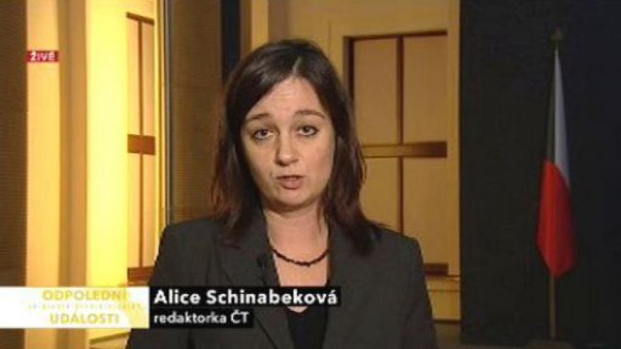 Video Vstup Alice Schinabekové