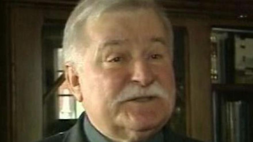 Video Walesa chce za Bolka odškodnění po Kaczyńském