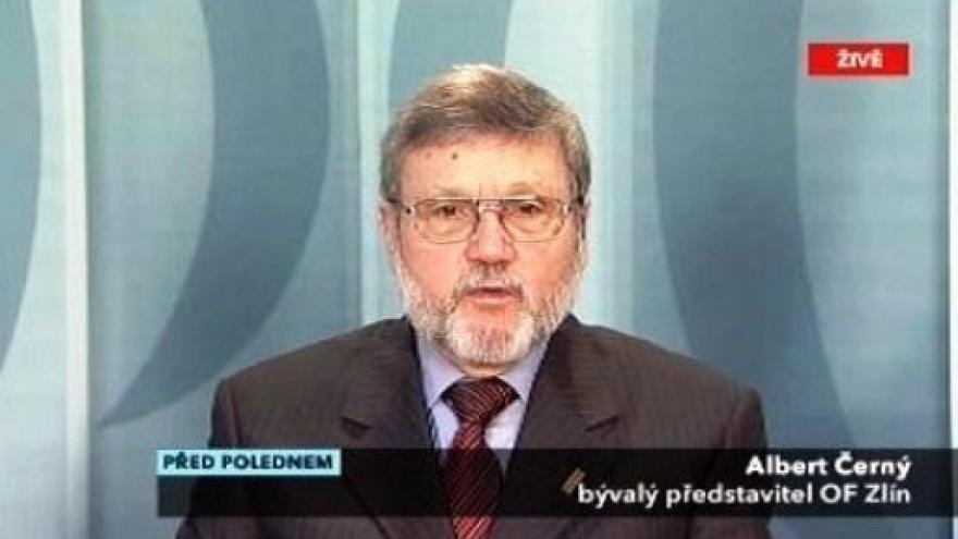 Video Rozhovor s Albertem Černým