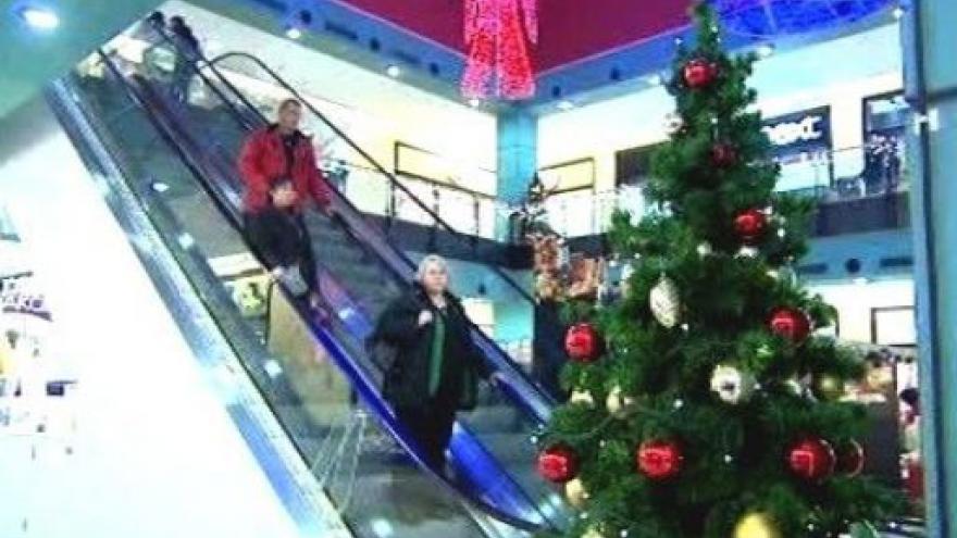 Video Vánoční nákupy v plném proudu
