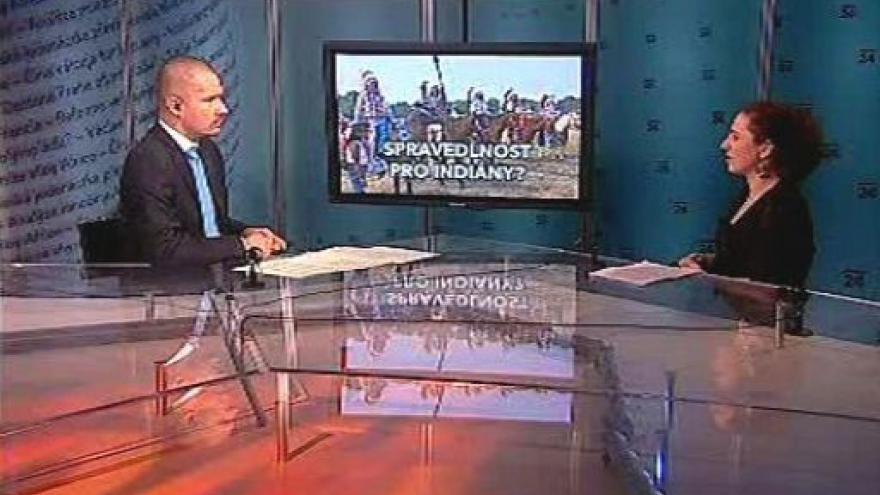 Video Rozhovor s Janou Sehnálkovou v Událostech, komentářích