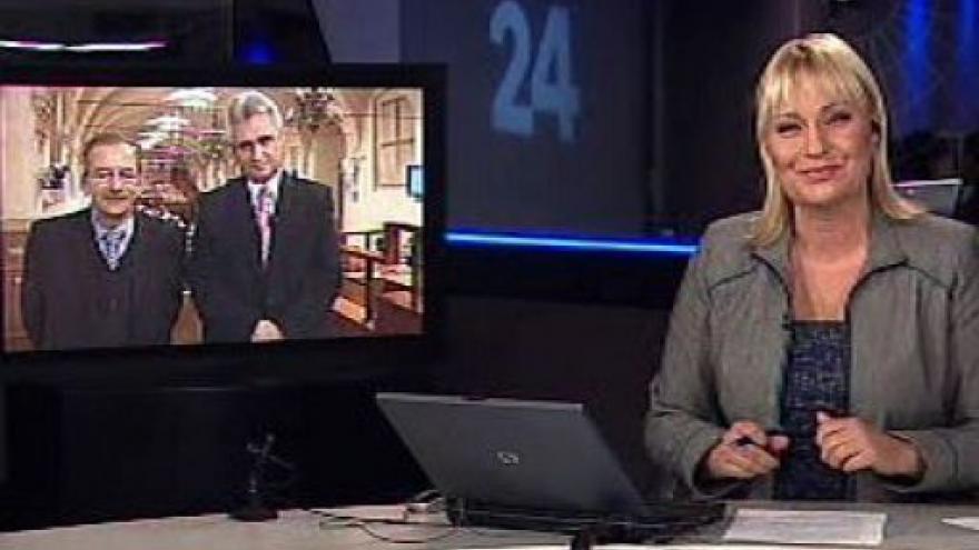 Video Studio ČT24 o koncesionářských poplatcích