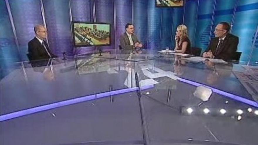Video Bohuslav Sobotka a Petr Nečas ve Studiu 6