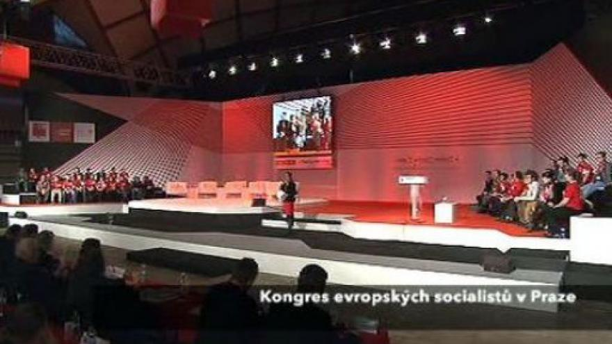 Video Projev Paroubka a Rasmussena