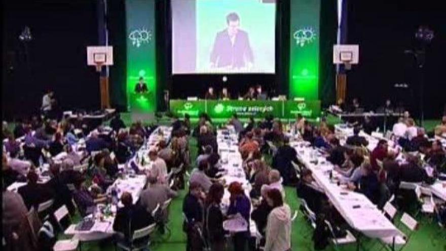 Video Kandidátský projev Ondřeje Lišky na kongresu SZ