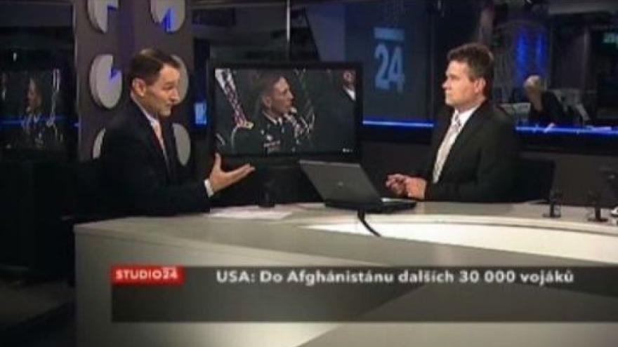 Video Studio ČT24 o nové strategii USA v Afghánistánu
