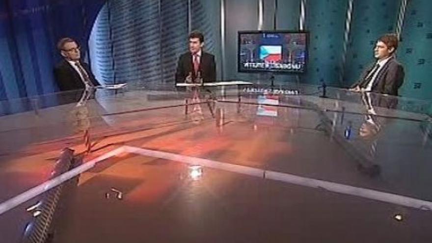 Video Lubomír Zaorálek a Petr Mach v Událostech, komentářích