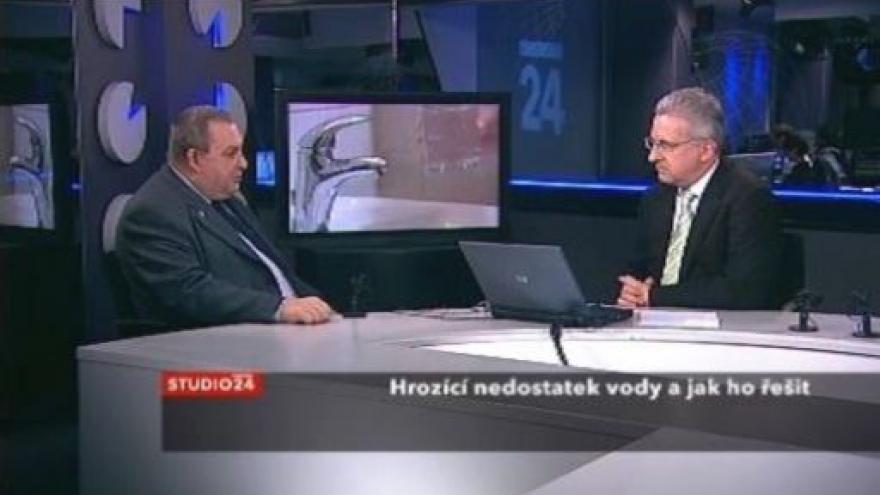 Video Jiří Wanner ve Studio ČT24