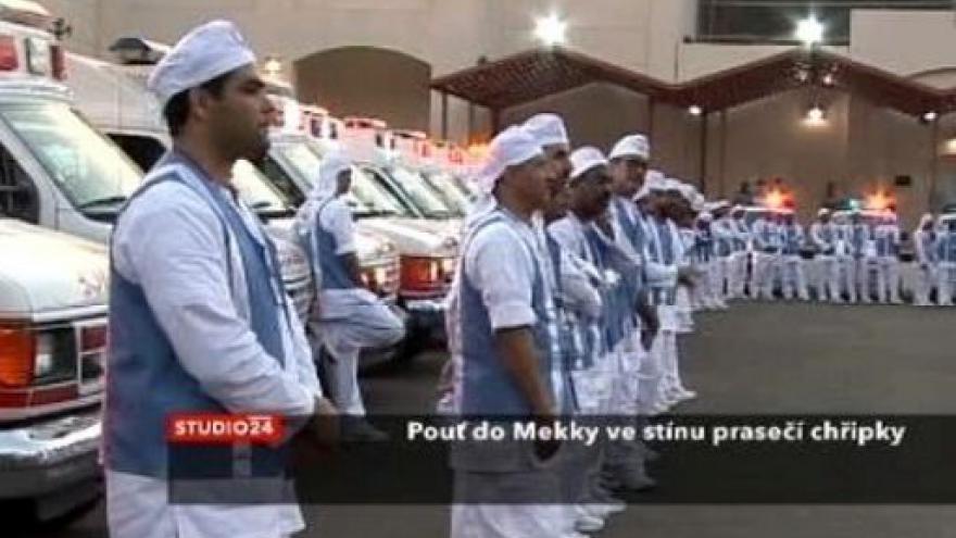 Video Prasečí chřipka ohrožuje pouť do Mekky