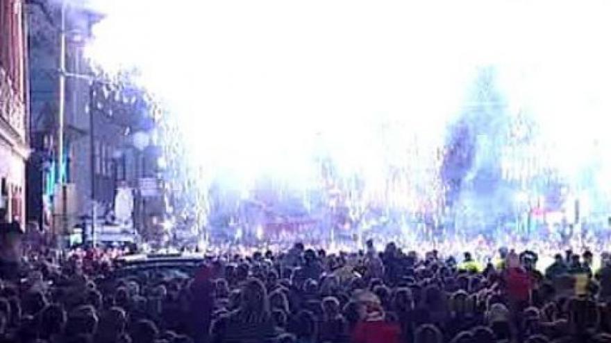 Video Bez komentáře - ohňostroj na Národní