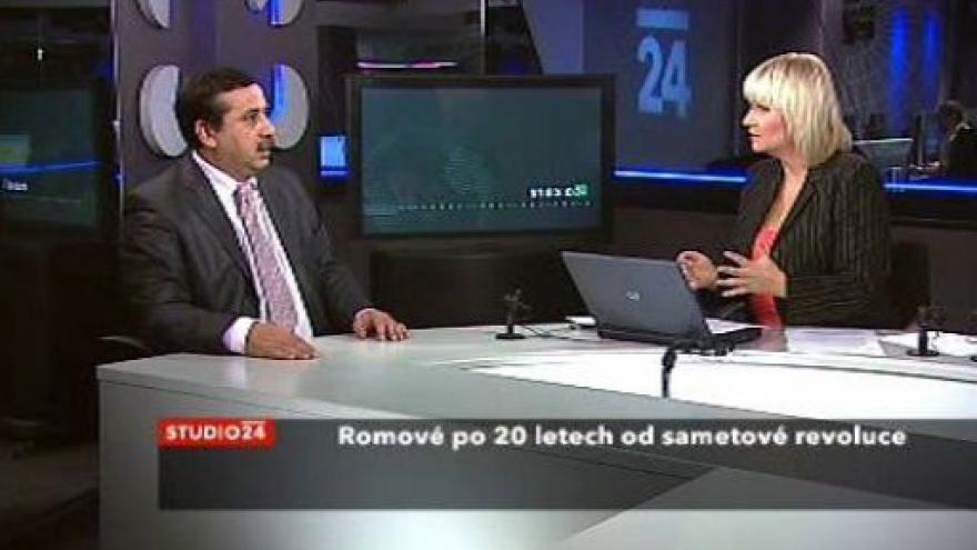 Video Ivan Veselý ve Studiu ČT24