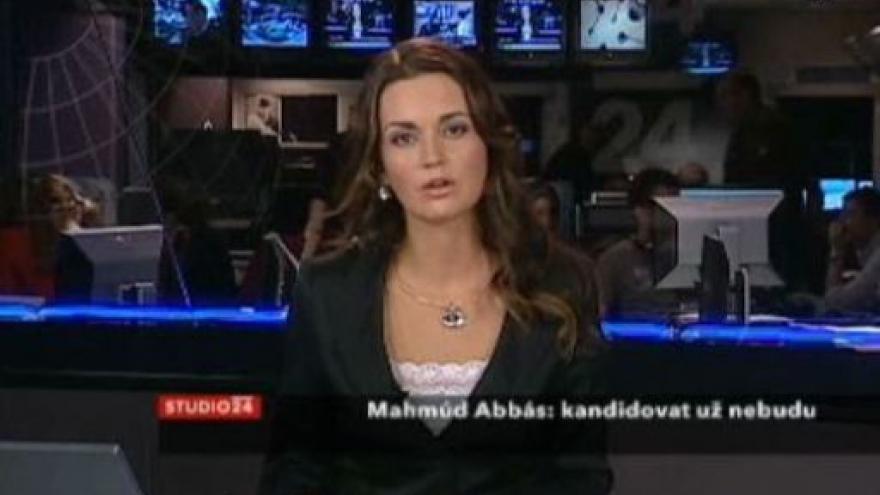 Video Studio ČT24 - Abbás nechce kandidovat