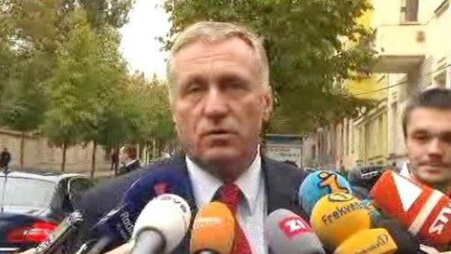 Video Brífink Mirka Topolánka po setkání s Joe Bidenem