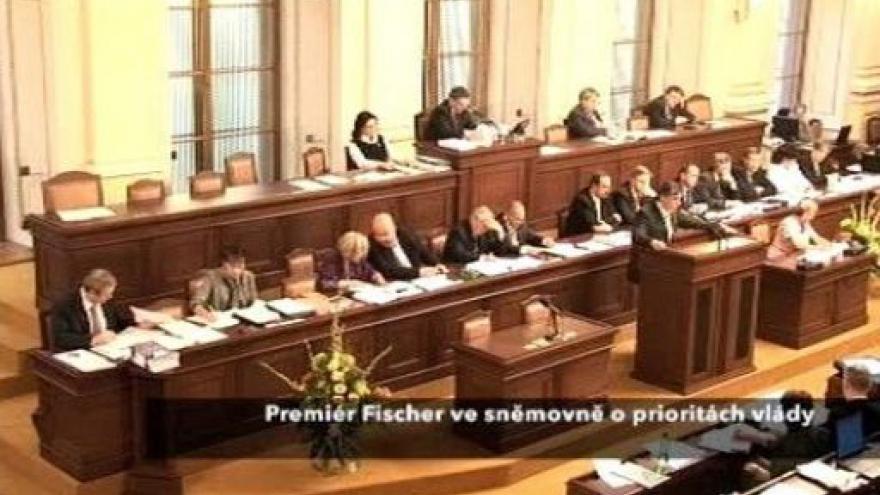 Video Projev Jana Fischera o prioritách vlády