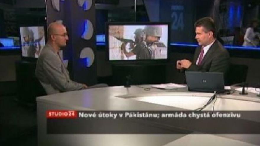 Video Studio ČT24 - Situace v Pákistánu