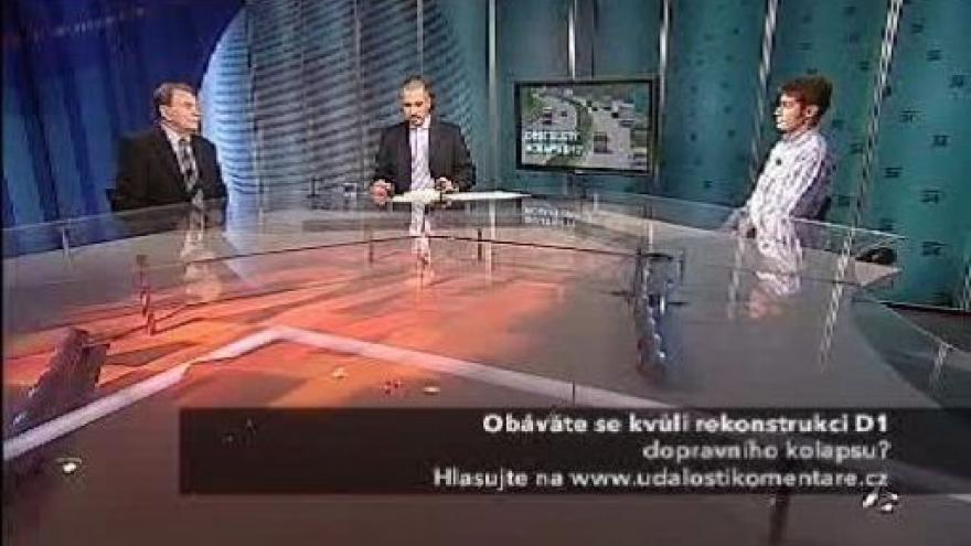 Video František Lehovec a Robert Šťastný v pořadu Události, komentáře