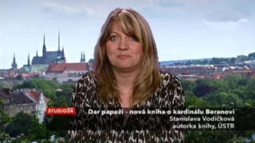 Video Historička Stanislava Vodičková hostem Studia ČT24