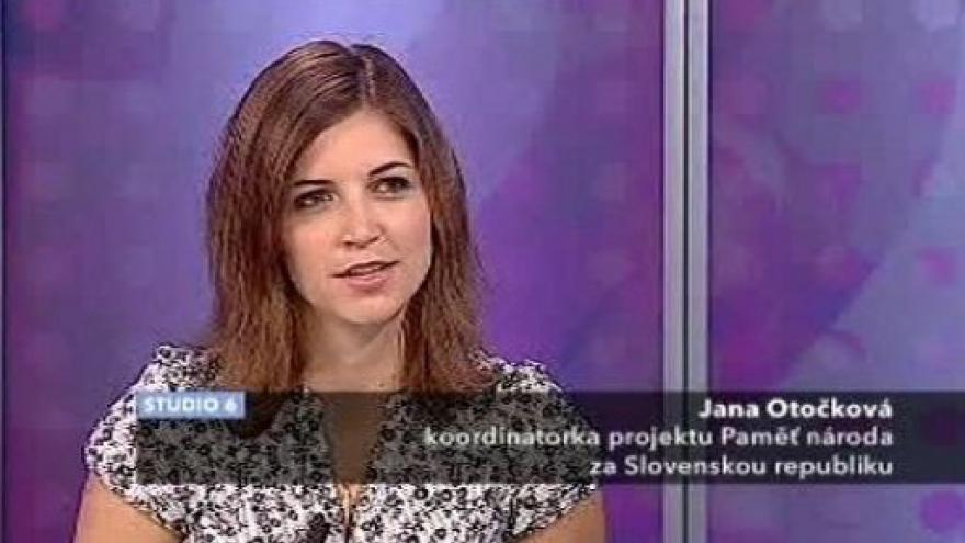Video Rozhovor s Janou Otočkovou