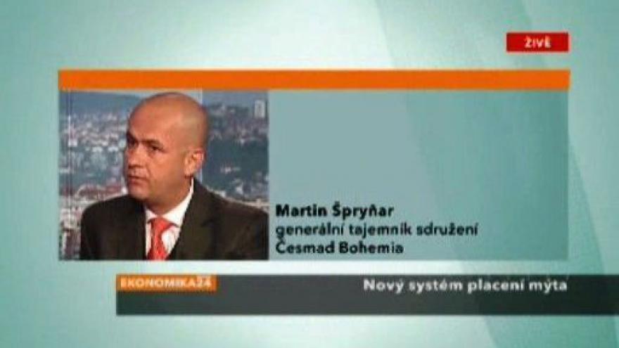 Video Rozhovor s Martinem Špryňarem