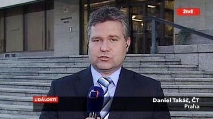 Video Živý vstup Daniela Takáče