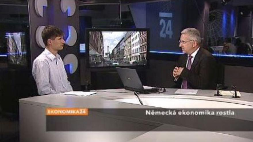 Video Jan Bureš ve Studiu ČT24