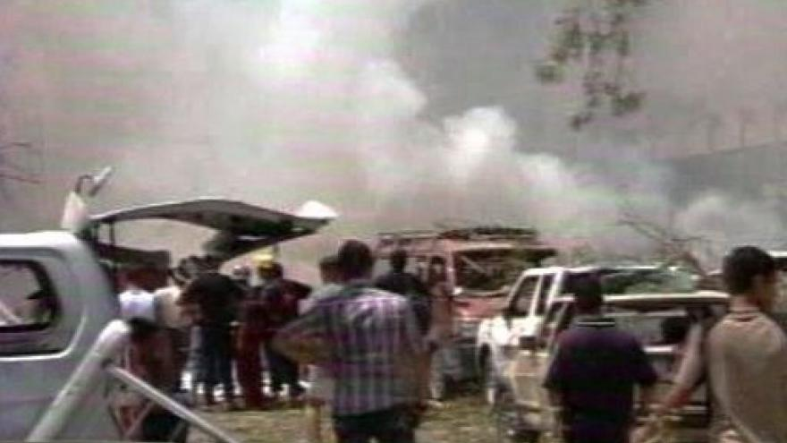 Video Jakub Szántó k výbuchu v Iráku