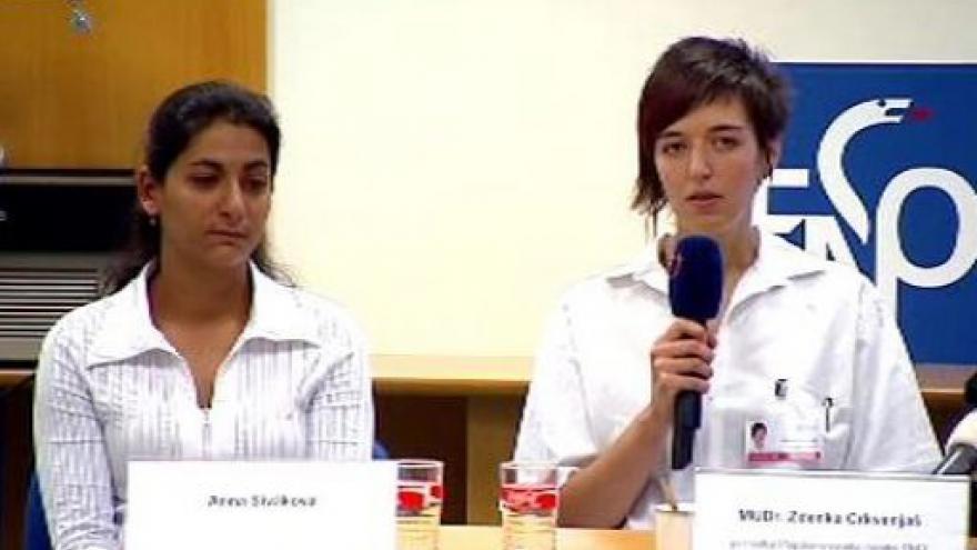 Video Tisková konference ostravské nemocnice ke stavu Natálky