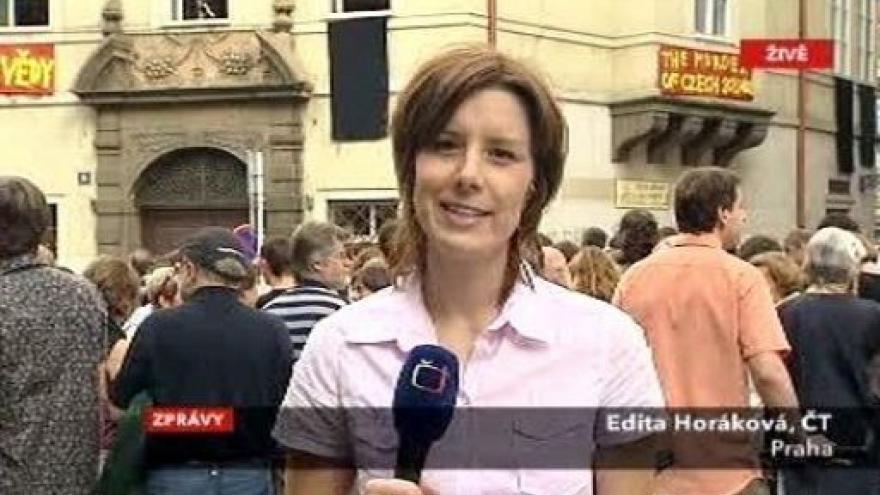 Video Studio ČT24 - Protesty vědců