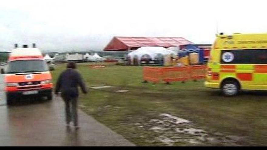 Video Tragédie na festivalu Pohoda