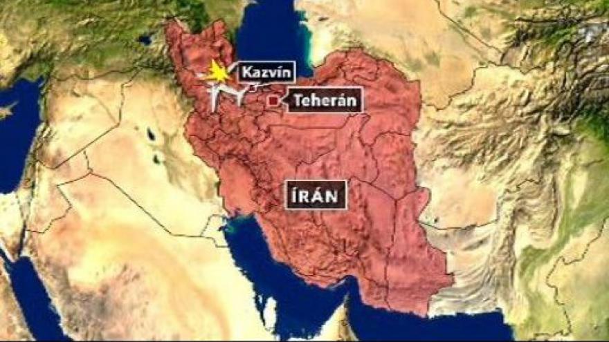 Video Zřícení íránského letadlo