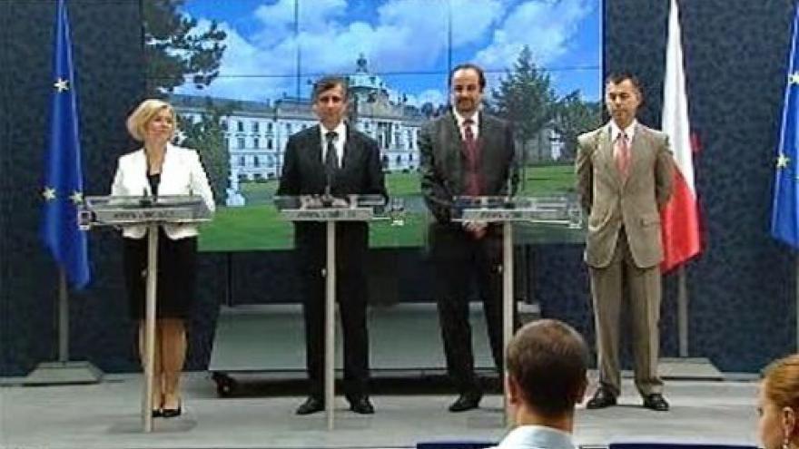 Video TK po jednání vlády - 13.7.2009