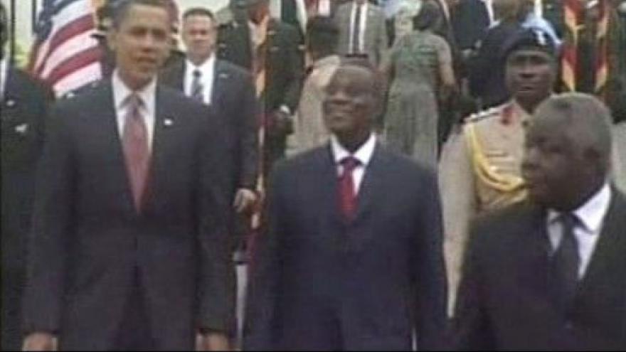 Video Barack Obama v Ghaně