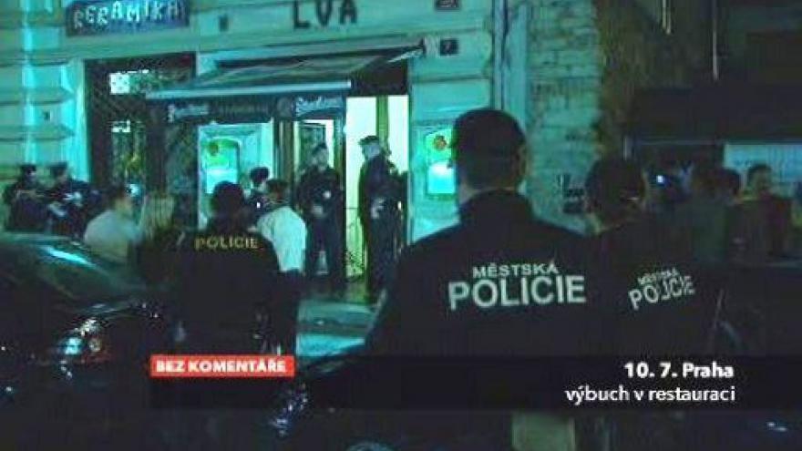 Video Bez komentáře: Výbuch v restauraci zranil čtyři lidi