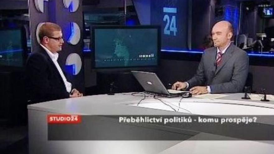 Video Jindřich Šídlo ve Studiu ČT24