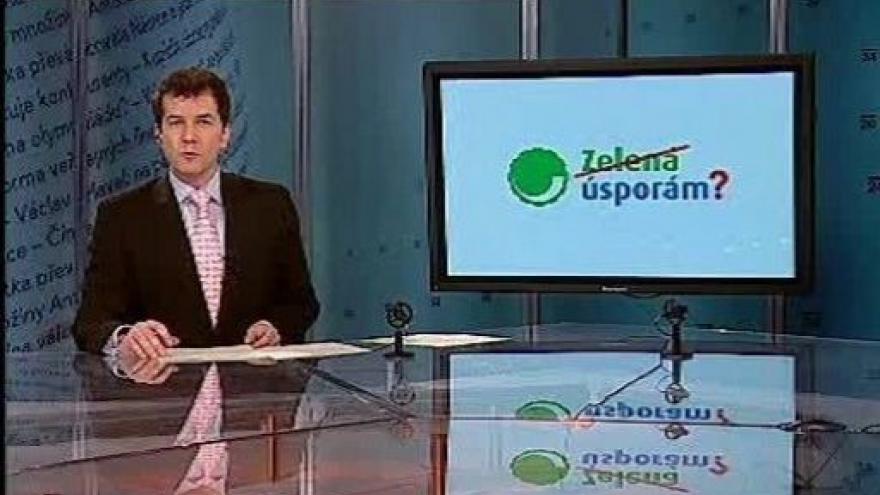 Video Události, komentáře o programu Zelená úsporám