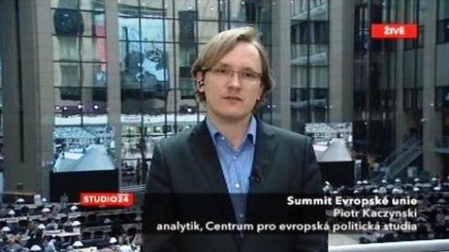Video Piotr Kaczynski k summitu EU 15:00