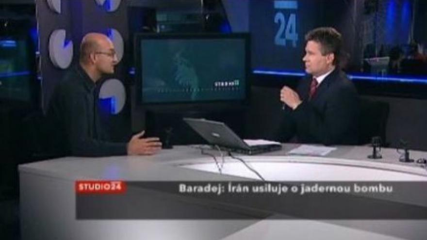 Video Studio ČT24 - Írán usiluje o jadernou bombu