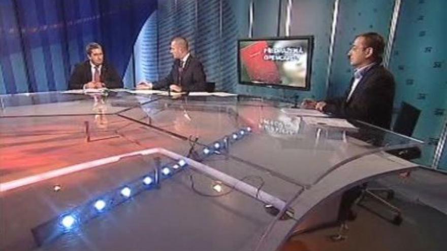 Video Petr Hulinský a Rudolf Blažek hosty Událostí, komentářů
